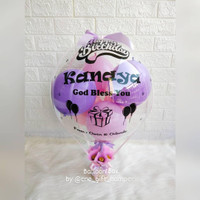 balon box / buket balon / kado balon / balloon bouquet