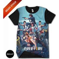 Baju Free Fire Squad DEWASA 3D Baju Grosir #REG-27