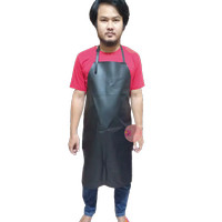 celemek waterproof/apron bahan pvc panjang 90cm