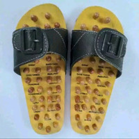 Terlaris Sandal Rematik Kayu - Slop Sendal Bakiak Kesehatan Refleksi A