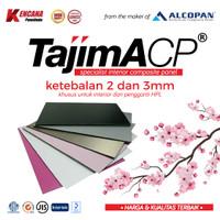 ACP TAJIMA Pure White 2mm Indoor Aluminium Composite Panel