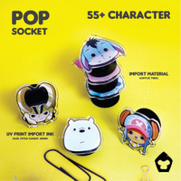 Pop socket / Hp / Handphone / Phone Holder Character Anime
