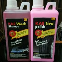 paket shampoo mobil,motor dan semir ban