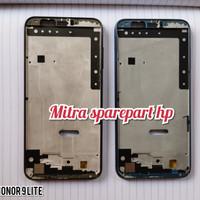 FRAME TULANG TENGAH TATAKAN DUDUKAN LCD HUAWEI HONOR 9 LITE ORIGINAL