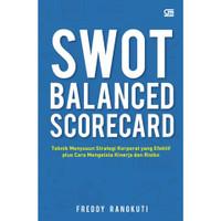 SWOT Balance Scorecard Cover Baru - Freddy Rangkuti