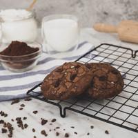 Fudgy Brownie Cookies (Dark Chocolate)