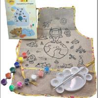 DIY Apron/Celemek Anak/Art Craft/Aktivitas Anak