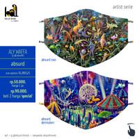 Art Mask 2ply - Aly Waffa - Absurd
