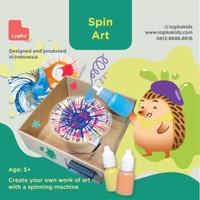 Mainan Edukasi Anak - Spin Art