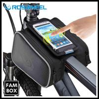 Roswheel Tas Sepeda Front Tube Waterproof dengan Case Smartphone