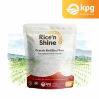 Tepung Beras Merah Organik Rice n Shine 250gr mpasi kue
