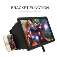 Projector Stand Holde Screen 3D Movie Screen Enlarge Magnifier Hd F2