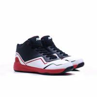Sepatu Basket Piero Speciale Original Black White Original