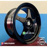 HSR Wheel SLEEKY JD7868 R17 Velg Mobi Baru Ring 17 - Pcd 5X100