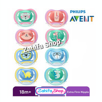 Avent Orthodontic Ultra Air Soother Pacifier Empeng Dot 18m+