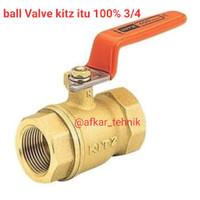 ball Valve 3/4 kitz ORI 100%