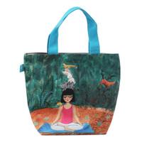 Totebag Kanvas Print / Handbag / Tas Jinjing Yoga Kamalika Artprints