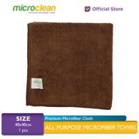 [Harga GROSIR] Lap Microfiber Cleaning Cloth size 40x40 - BROWN
