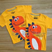 Baju Kaos Atasan Anak Laki Laki Cowok Dinosaurus Dino Dinosaur Lucu Or