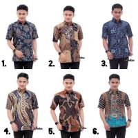 Baju Batik Pria Lengan Pendek Seragam Kantor Terbaru
