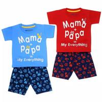 Baju Anak Laki Laki - setelan Anak Laki Laki I Love Mama Papa 1-7