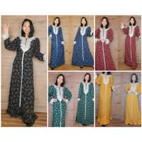 Maxi Dress Arabian Mayasari Lengan Panjang Wanita