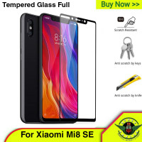 Tempered glass Xiaomi Mi 8 SE Full Cover - Tg Warna 3d 2.5D 5D MI8 SE