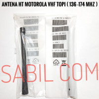 ANTENA HT MOTOROLA VHF CP 1300 - CP 1660 - GP 2000 - GP 338 VHF TOPI