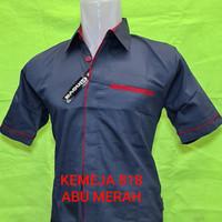 Seragam pabrik/seragam kerja/baju kemeja kantor/seragam toko dll