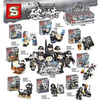 Lego SY 6195 Falcon Commandos Minifigure Swat Army set @8 SY6195