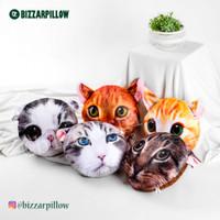 Bantal Custom Kepala Kucing