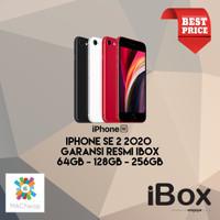 iPhone SE 2 2020 64GB 128GB 256GB Garansi Resmi iBox NEW BNIB