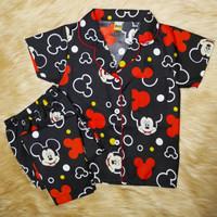 Piyama Baju Tidur Anak-Anak Umur 1-14 Motif Mickey Mouse
