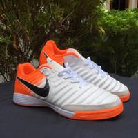 Sepatu Futsal Nike Tiempo X Finalle White Orange