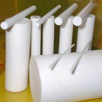 Teflon PTFE Rod 6mm x 100cm Teflon Batangan / Teflon As