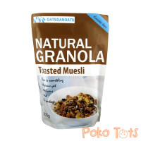 OatsdanOats Natural Granola Toasted Muesli 500gr Sereal Oats Grains