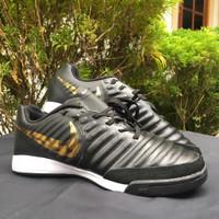 Sepatu Futsal Nike Tiempo X Finalle II Black Gold