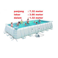 kolam renang swimming pool portable Ukuran besar big Size inflatable