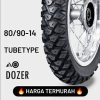 TERMURAH !!! FDR TUBETYPE / NON TUBELESS DOZER 80/90-14 BAN MOTOR