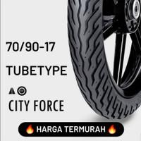 TERMURAH !!! FDR TUBETYPE / NON TUBELESS CITY FORCE 70/90-17 BAN MOTOR