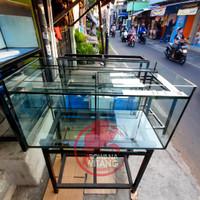 Aquarium 100x50x50 8mm / Aquarium Custom / Aquarium 100x50x50 KUALITAS