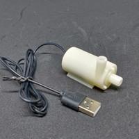 Pompa Air Celup V2 USB DC 3-6V mini Aquarium Hidroponik