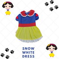 Snow White Dress baju anjing kucing musang kelinci