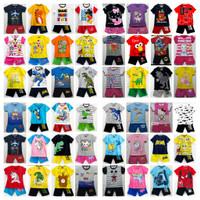 Setelan Kaos Baju Anak 1-10 Tahun - 2-3 tahun
