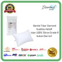 (M) BANTAL TIDUR HOTEL Diamond 100% Silicon Grade A bukan Dacron !