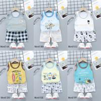 Baju Bayi Anak / Setelan Bayi Anak / Setelan Singlet Oblong Bayi Anak
