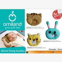 omiland Baby Bantal Bayi anti kepala peyang karakter