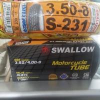 ban vespa ring 8 swallow s231 plus ban dalam