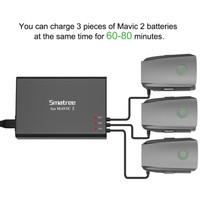 Smatree AP180 Charger Hub & Adapter for DJI Mavic2 Pro Mavic 2 Zoom