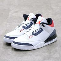 Sepatu Nike Air Jordan 3 Retro SE Denim Fire Red